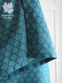 fabric handloom jaquard from Karlotta Pink